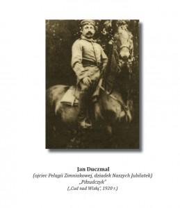 Jan Duczmal na koniu