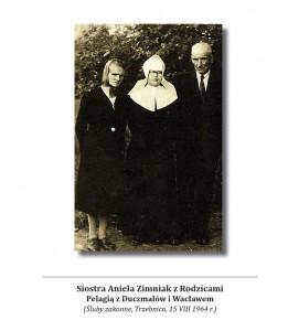 S.Aniela Zimniak z Rodzicami