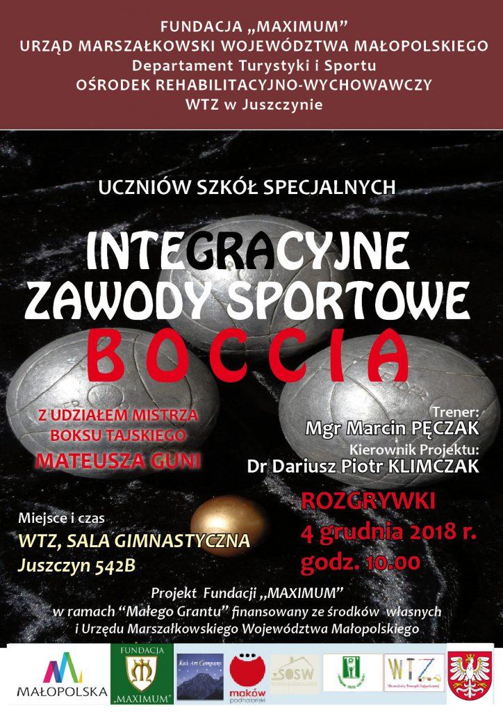 Plakat Boccia 2018 małe dpi